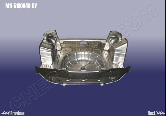 CHERY AUTOMOBILE A3 M11 PANEL ASSY-RR FLOOR :: M11-5100040-DY