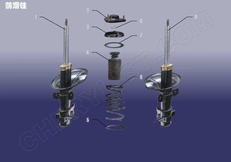 CHERY AUTOMOBILE A3 M11 FRONT SHOCK ABSORBER