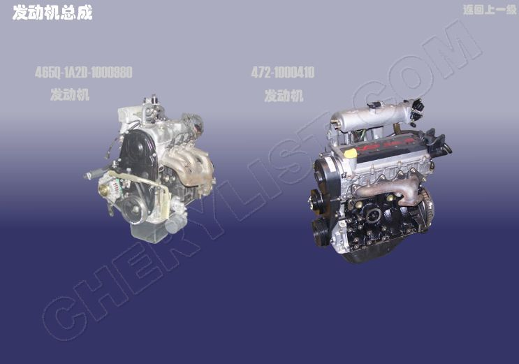 CHERY AUTOMOBILE QQ SWEET ENGINE ASSY
