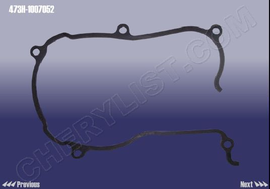CHERY AUTOMOBILE QQ6 GASKET-COVER TIMING GEAR LWR :: 473H-1007052