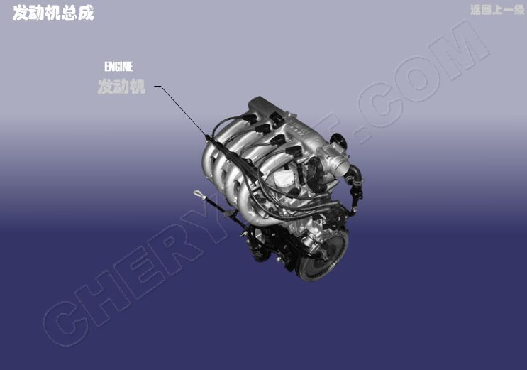 CHERY AUTOMOBILE QQ6 ENGINE ASSY