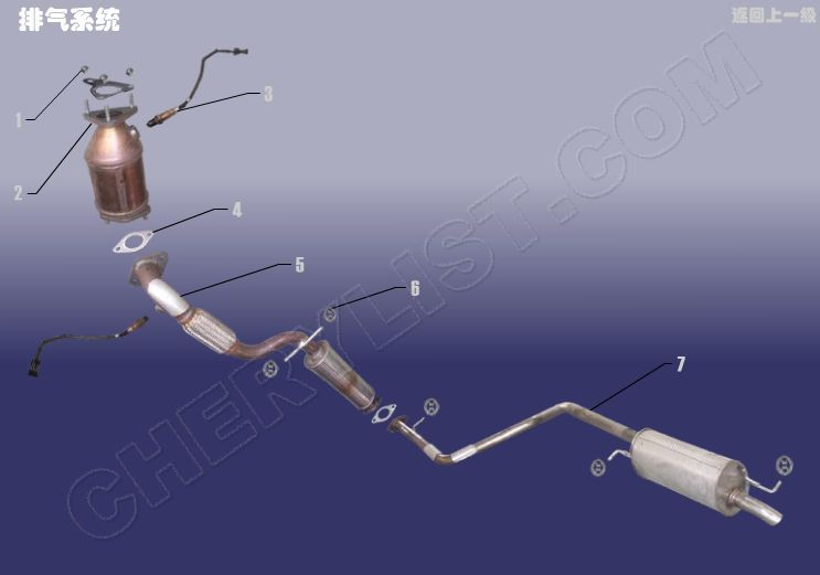 CHERY AUTOMOBILE QQ6 AIR EXHAUST SYSTEM